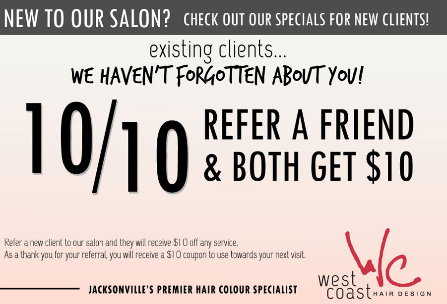Coupon Specials Best Jacksonville Hair Salon 32223 Balayage